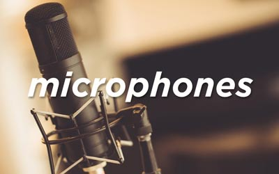 MICROPHONES AT SOUNDS EASY