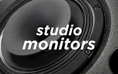 STUDIO MONITORS AT SOUNDS EASY