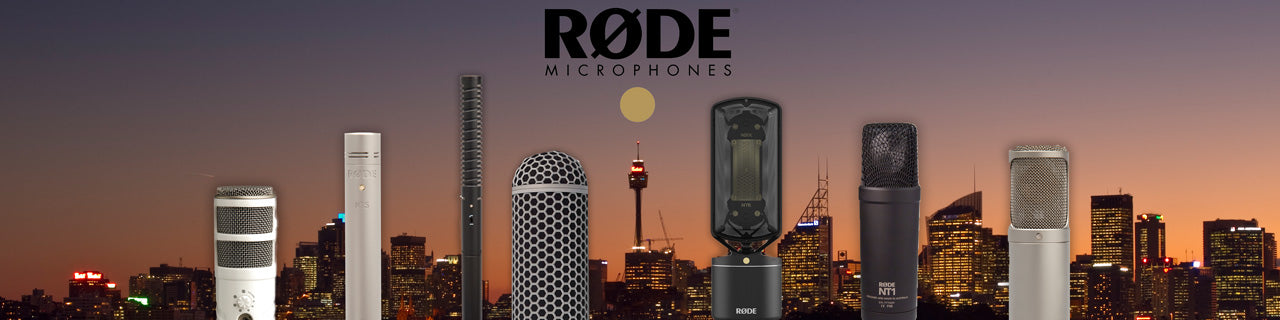 Rode Microphones now at sounds easy