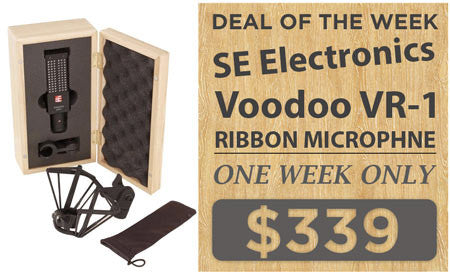 Se Electronics Voodoo Ribbon Microphone