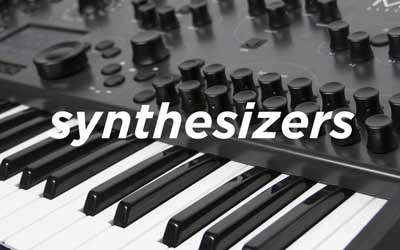 SYNTHESIZERS AT SOUNDS EASY