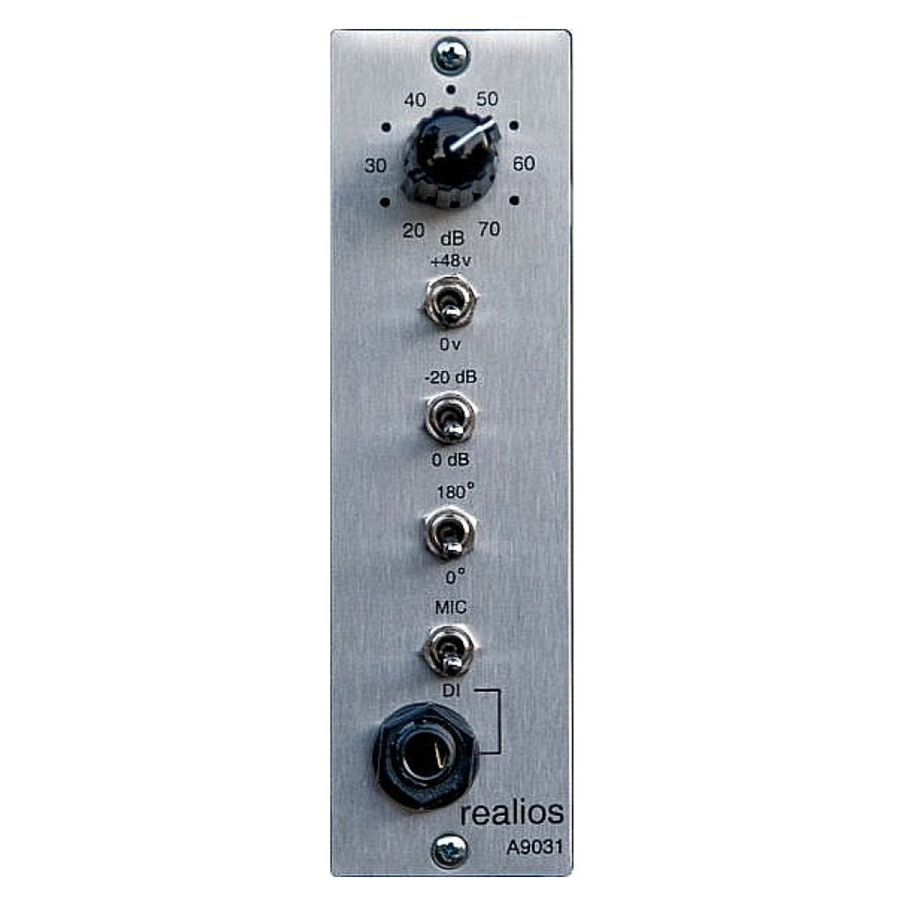 500 Series - AnaMod Realios A9031 Preamp For 500 Series