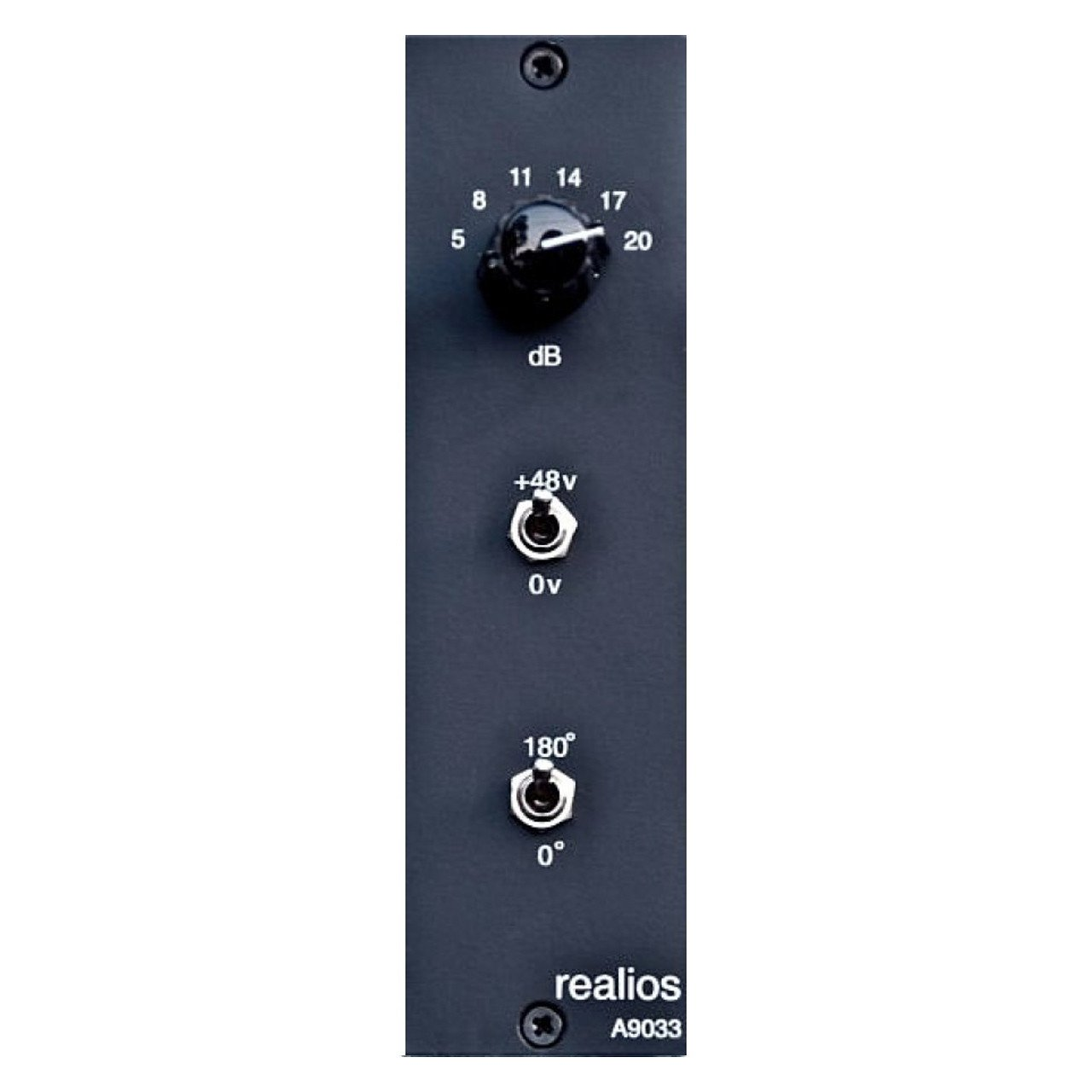 500 Series - AnaMod Realios A9033 Preamp For 500 Series