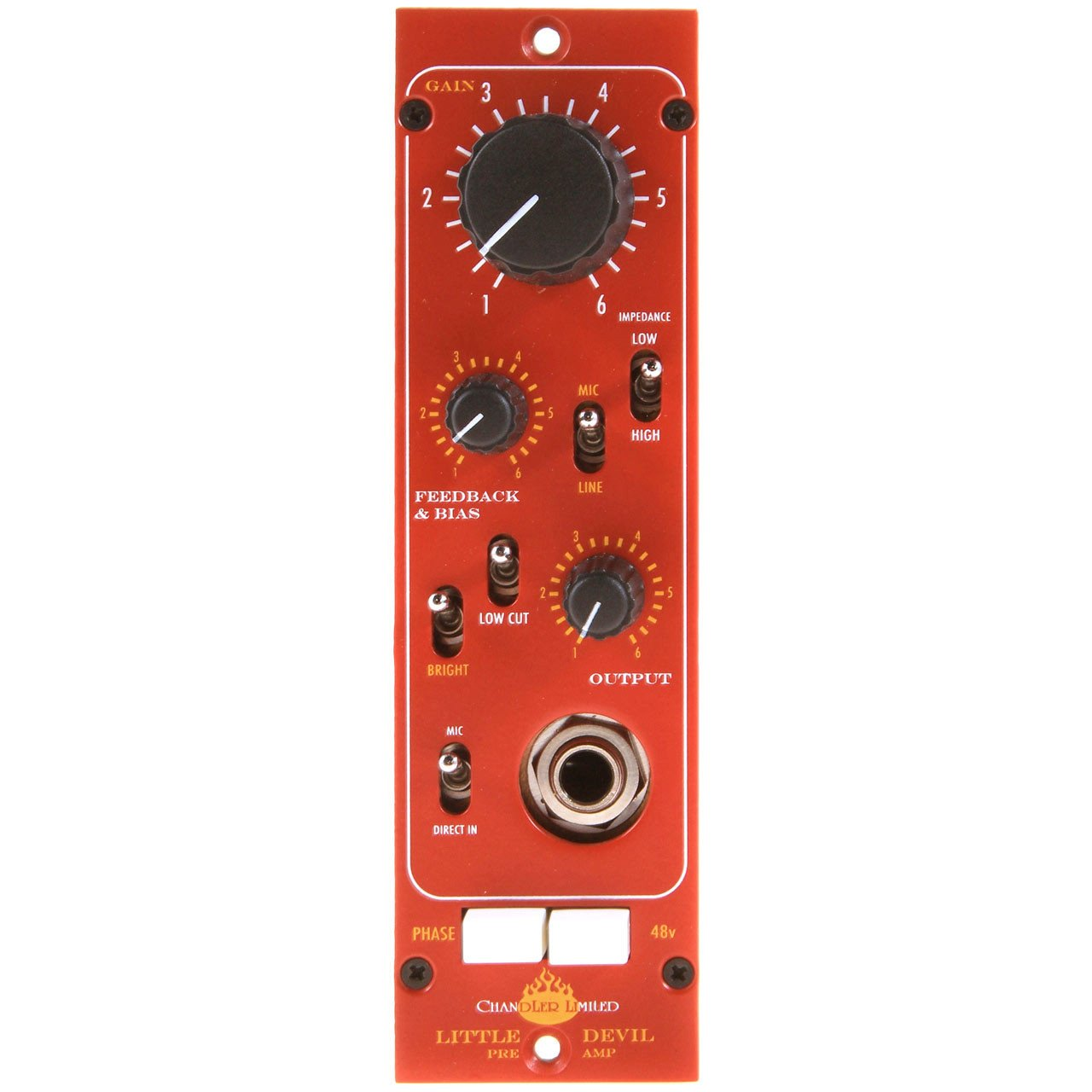 500 Series - Chandler Limited Little Devil Pre Amp 500 Series