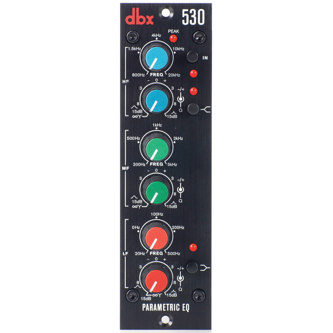 500 Series - DBX 530 Parametric EQ - 500 Series