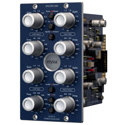500 Series - Elysia Xfilter 500 Equalizer