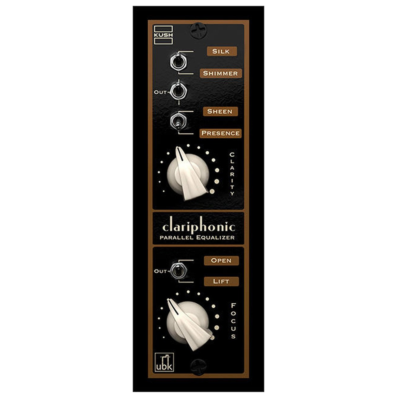 500 Series - Kush Audio UBK Clariphonic 500 Parallel Equalizer