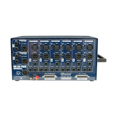 500 Series - Radial SixPack 6-Slot 500 Series Rack