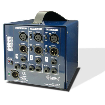 500 Series - Radial Workhorse Cube 3-Slot 500 Series Lunchbox (empty)