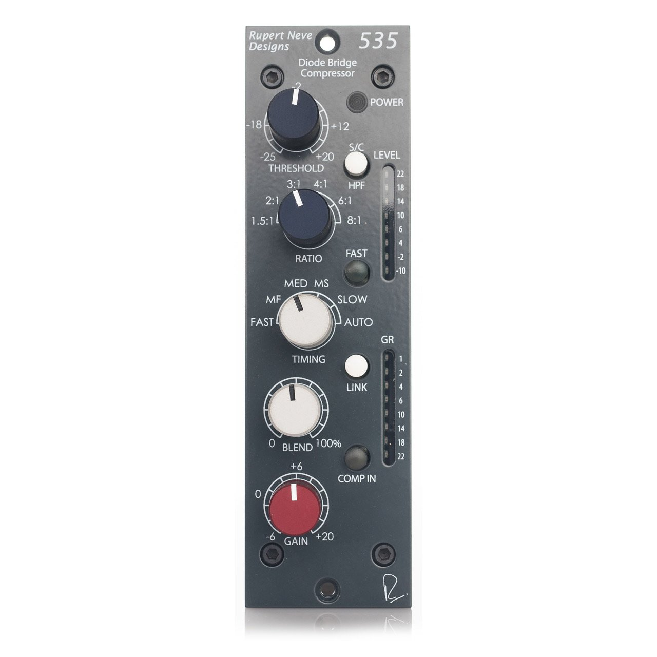 500 Series - Rupert Neve Designs 535 Diode Bridge Compressor