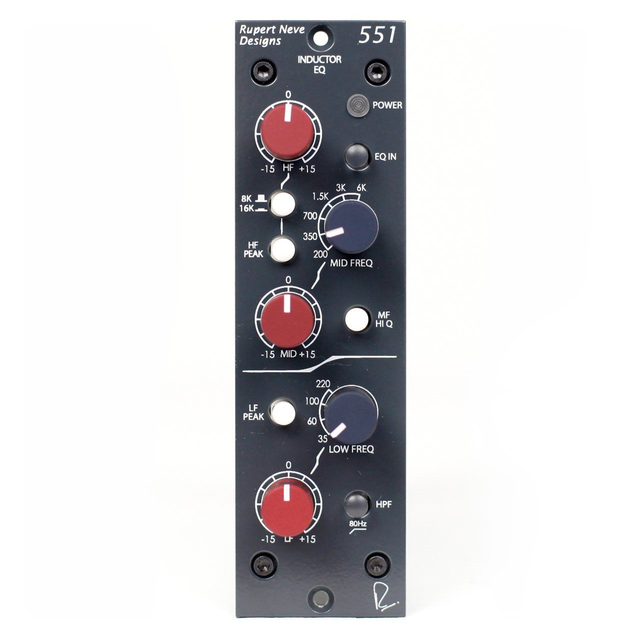 500 Series - Rupert Neve Designs 551 - 500 Series Inductor EQ