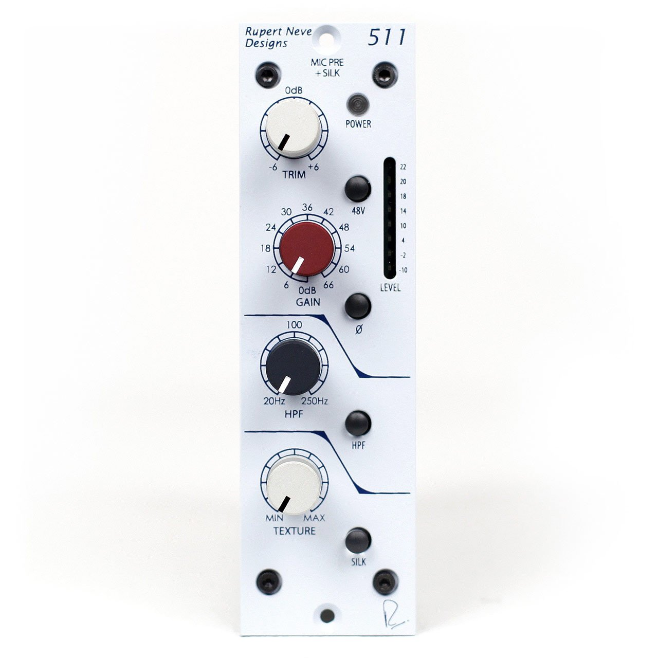 500 Series - Rupert Neve Designs Portico 511 500 Series Mic Pre With Silk