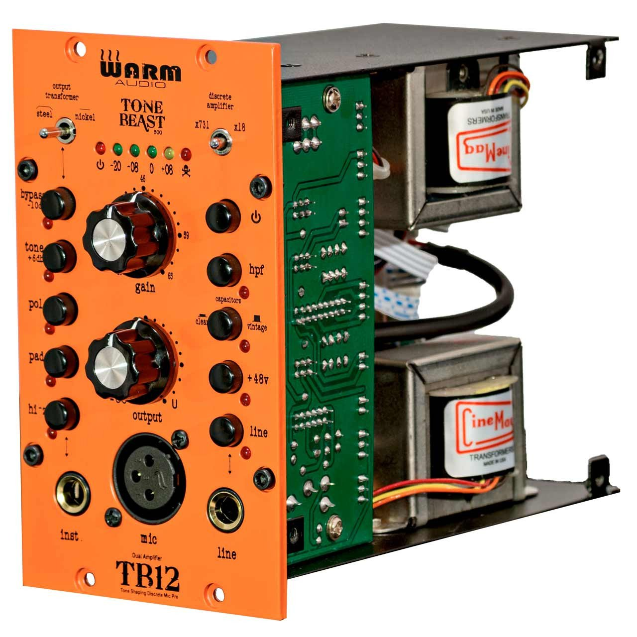 Warm Audio TB12 500 Series - Tone Shaping Microphone Preamp