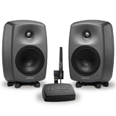 Genelec 8330A SAM Monitors With GLM 2.0 Software Bundle, monitor controller & reference microphone.