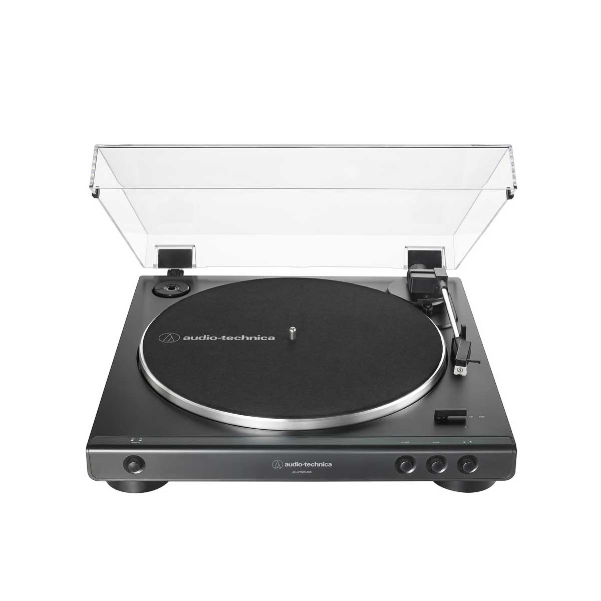 Audio-Technica LP60xBT Fully Automatic Belt-Drive Stereo Turntable with Bluetooth® (Black)