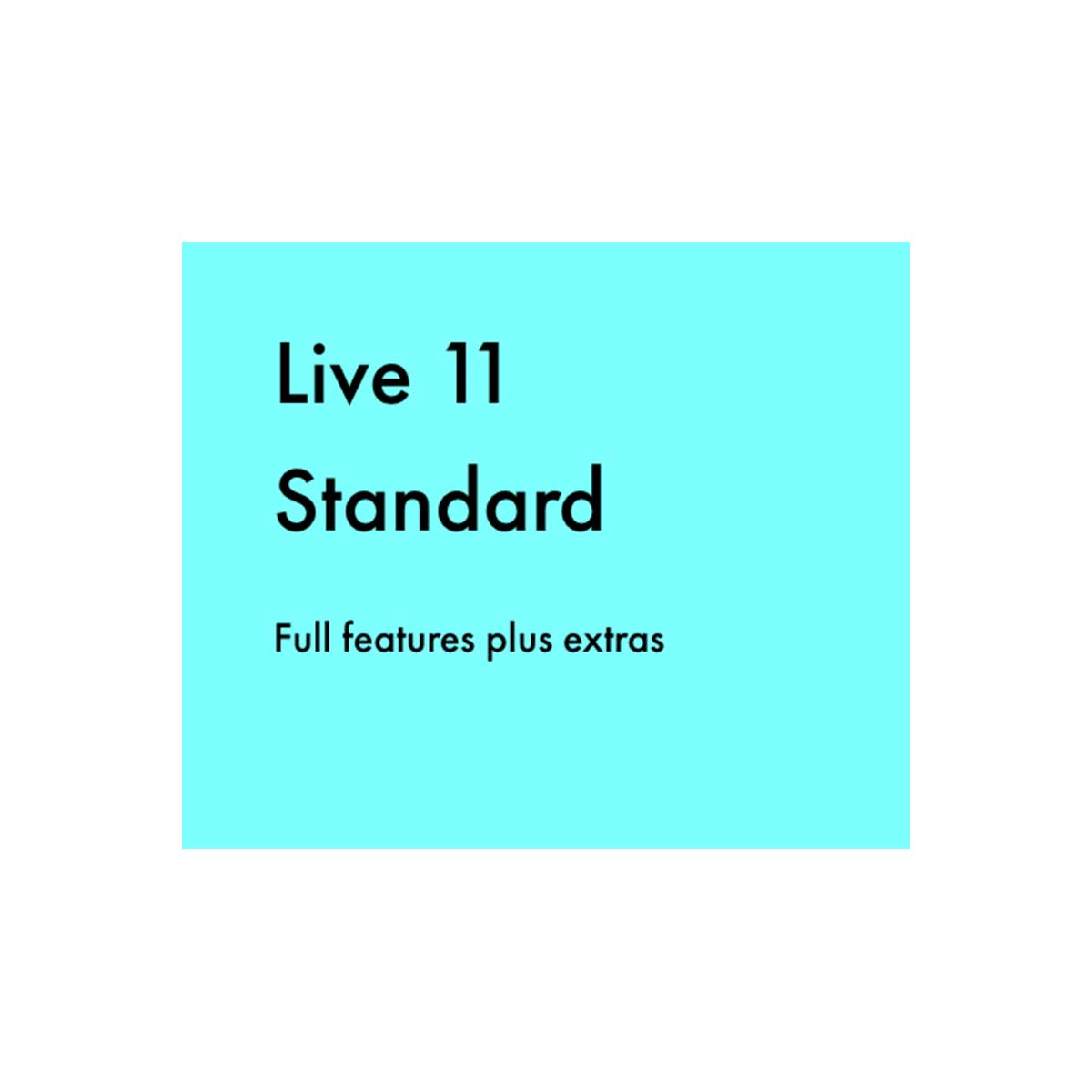 Ableton Live 11 Standard download only code