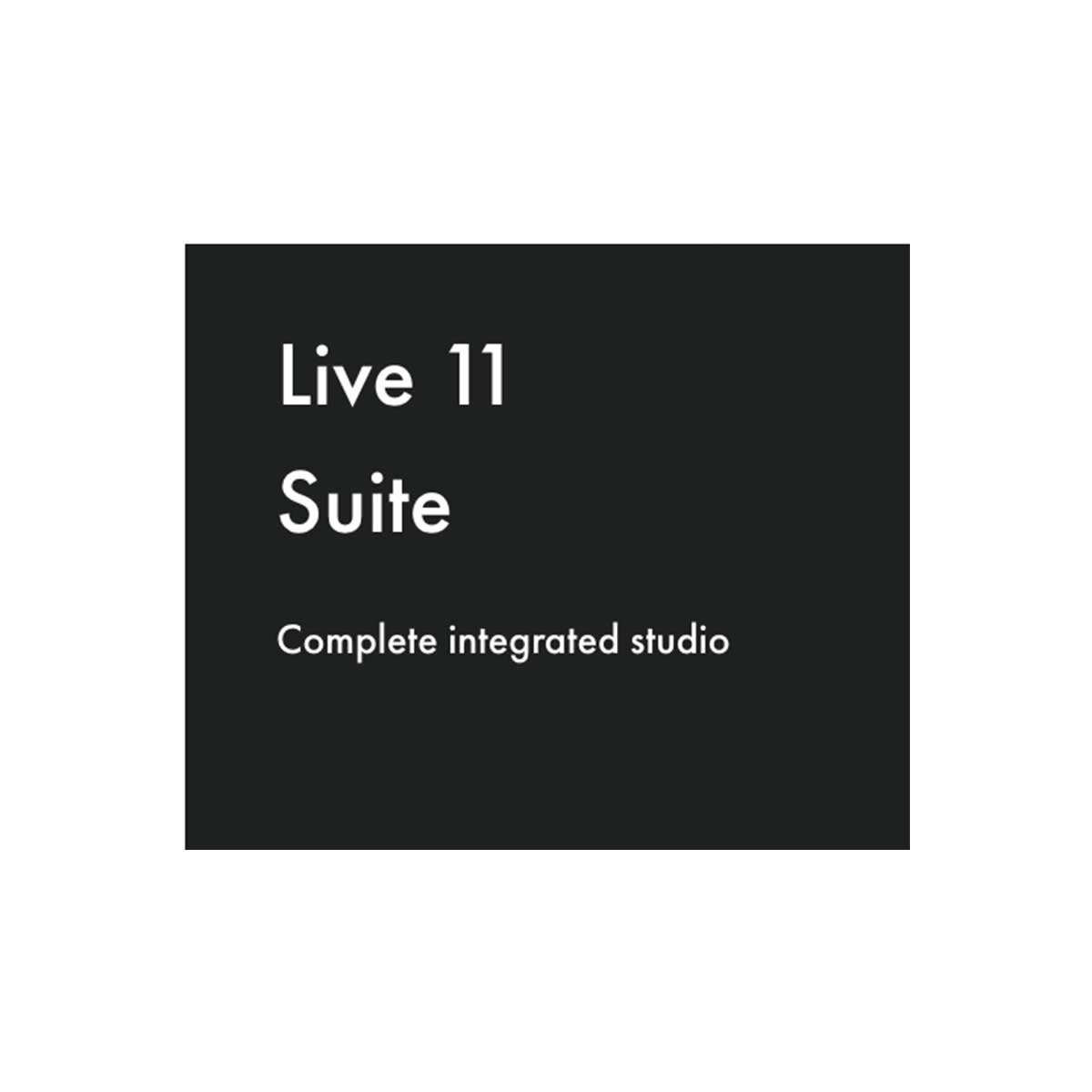 Ableton Live 11 Suite download only code Education