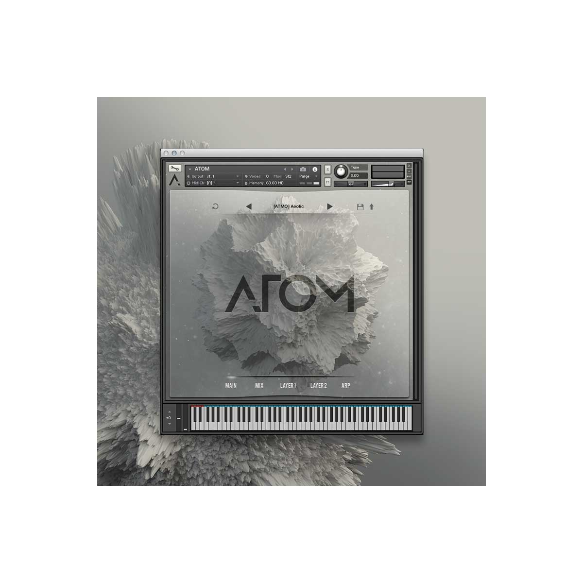 Audio Modern Atom Advanced Film & Game Sound Design Tool