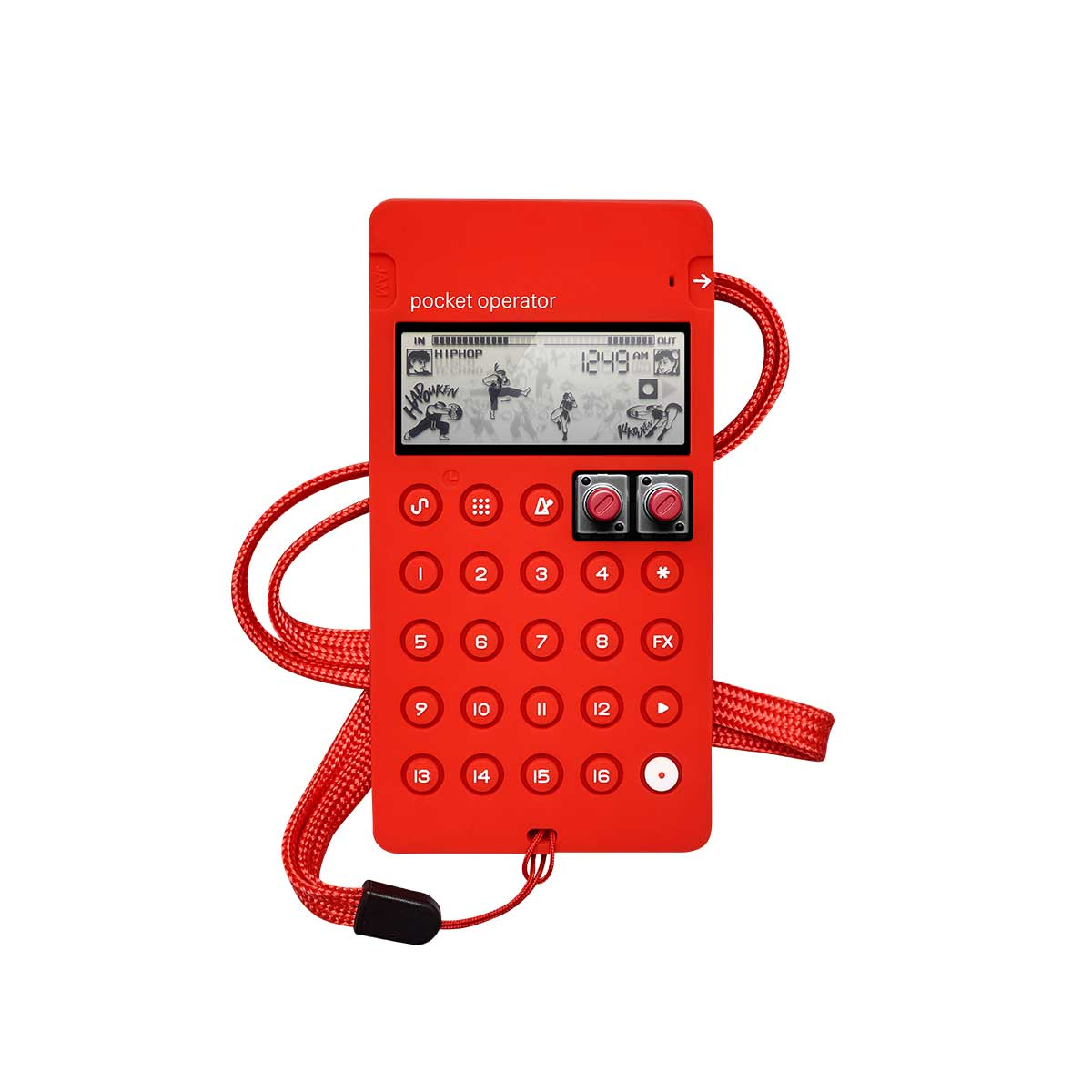 Teenage Engineering CA-X Red Protective Case for Pocket Operator