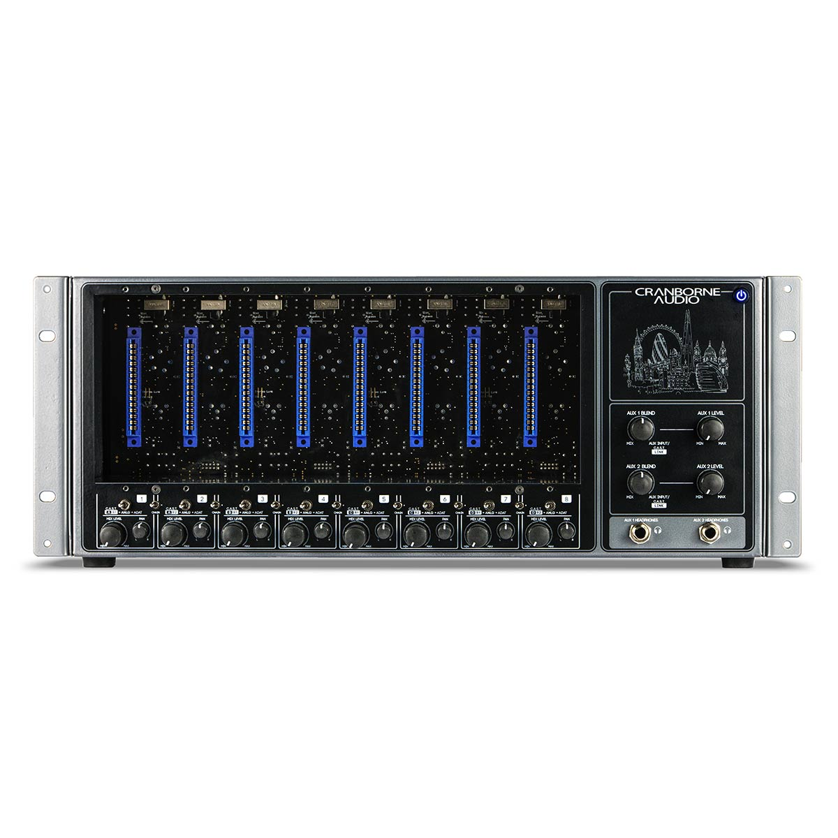Cranborne Audio 8-Slot 500 Series Rack with analogue summing & ADAT IO