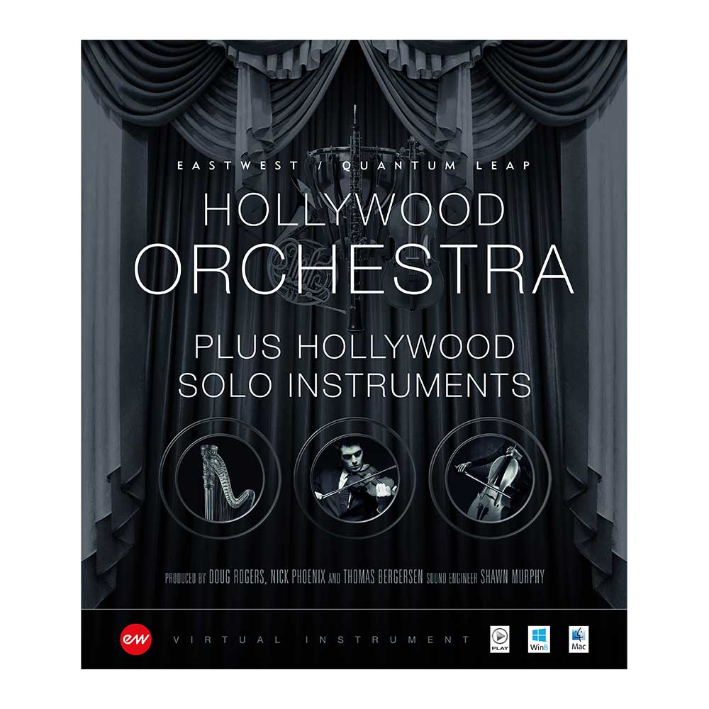 EastWest Hollywood Orchestra+Solo Instruments Bundle Cover