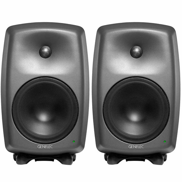 Genelec 8250A Pro Nearfield SAM Monitor Spearkers PAIR