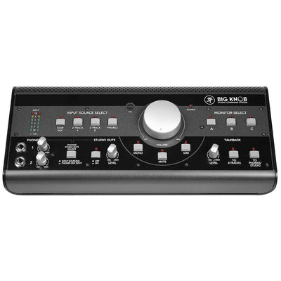 Mackie Big Knob Studio Volume Controller and Command System top