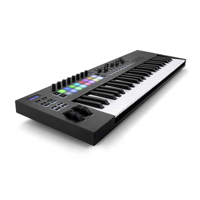 Novation Launchkey 49 MK3 49-Note Keyboard Controller Left