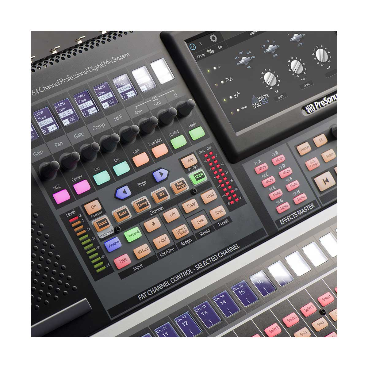 presonus studiolive 64s 64 channel digital mixer and usb audio interfa sounds easy. Black Bedroom Furniture Sets. Home Design Ideas