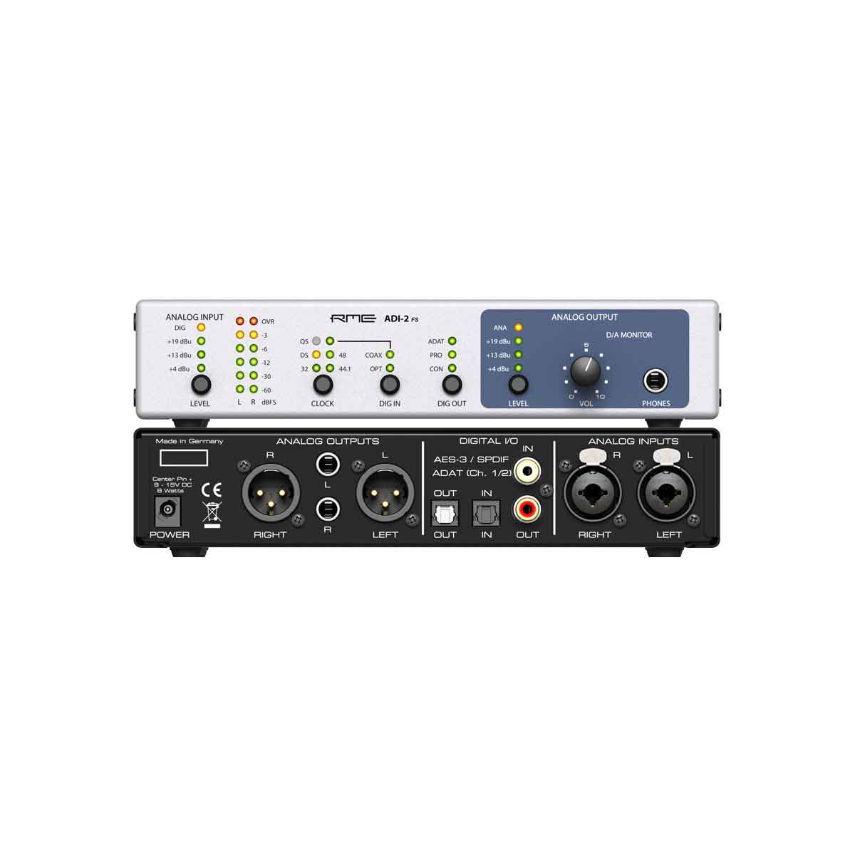RME ADI-2 FS 2-channel Hi-End AD/DA-converter