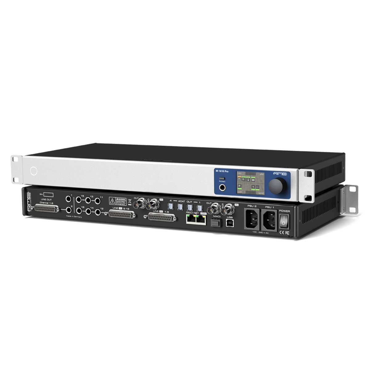 RME M-1610 Pro 16 channel A/D, 10 channel D/A converter with ADAT, AVB, MADI