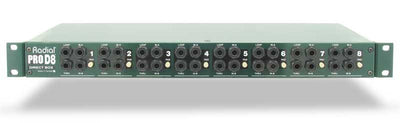 Radial Engineering ProD8 Front Panel