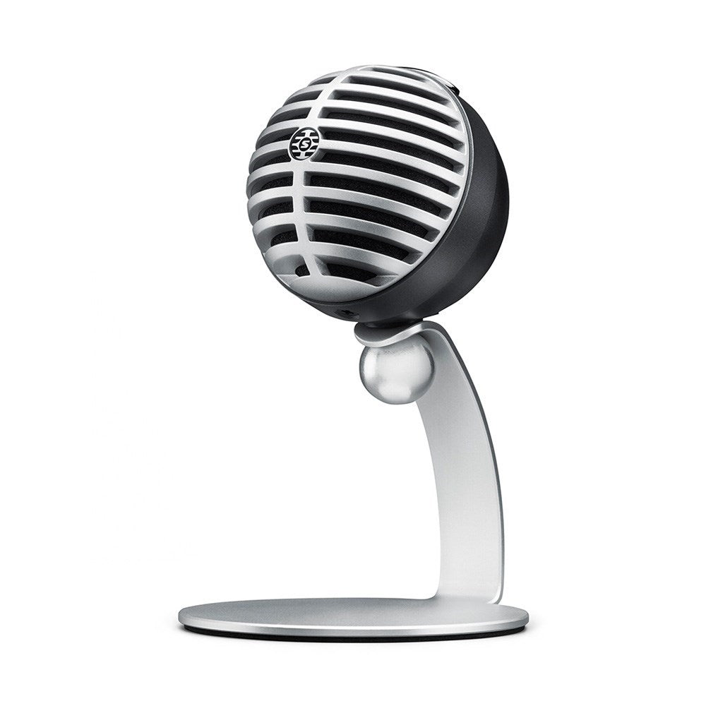 Shure MOTIV MV5 (Grey) iOS Compatible Digital Condenser Microphone