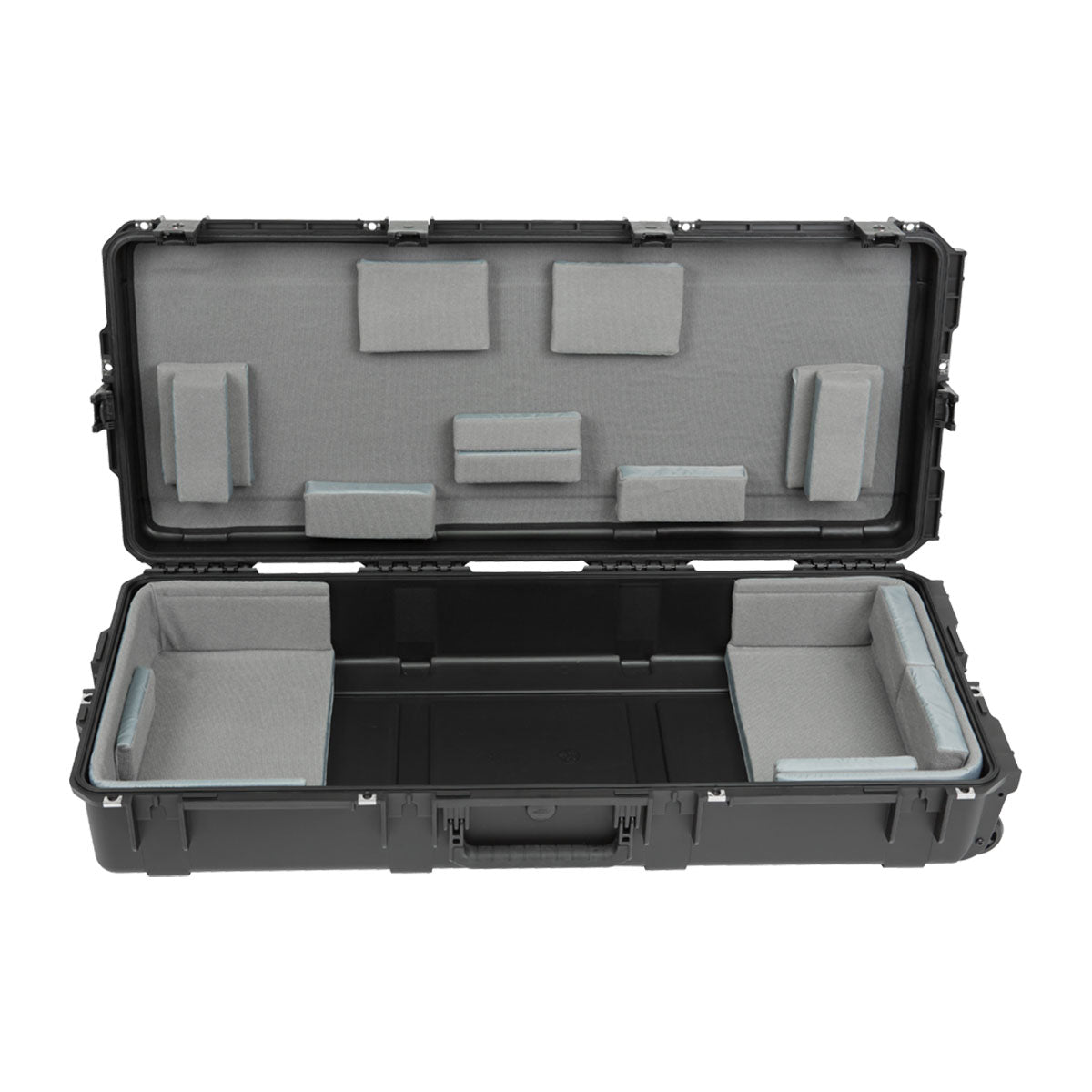 "SKB iSeries 61-Note Keyboard Case - w/Think Tank Interior: 39.5"" x 16"" x 5.625"""