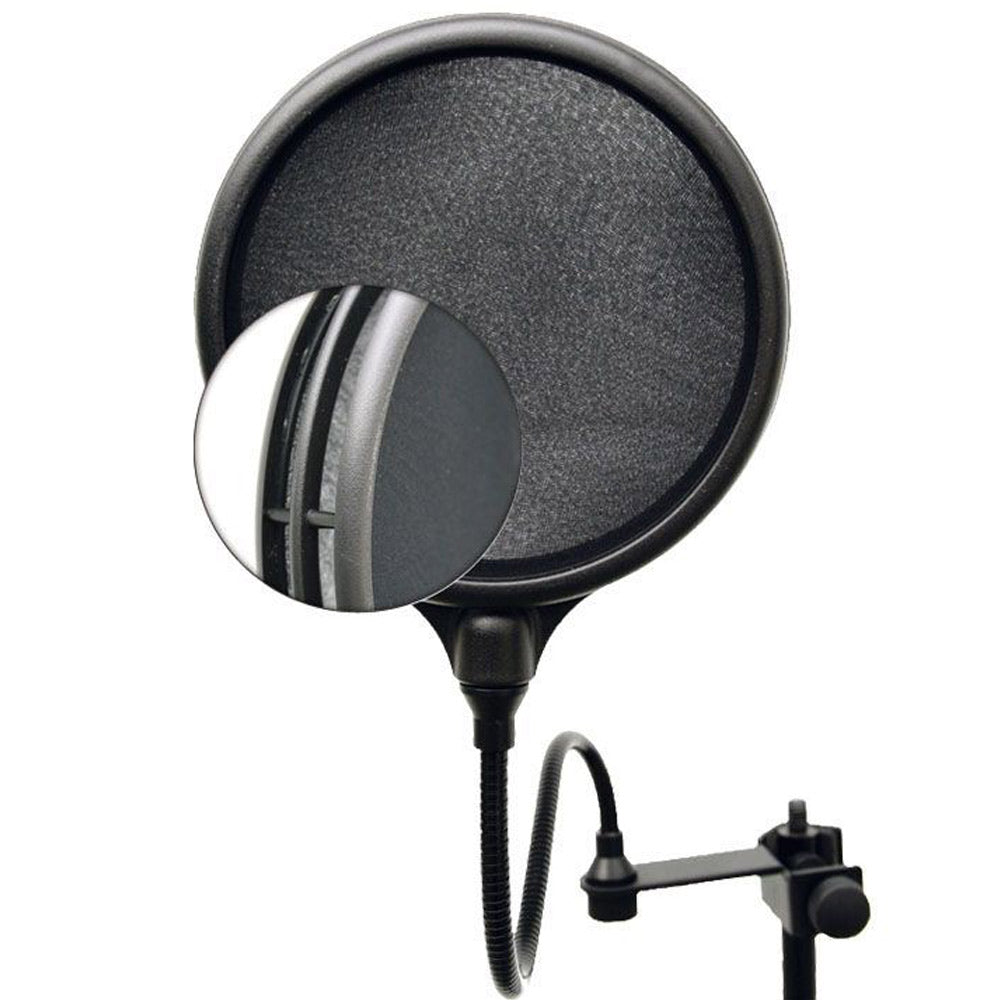 SM Pro Audio PS2 Dual-Layer Microphone Pop Shield