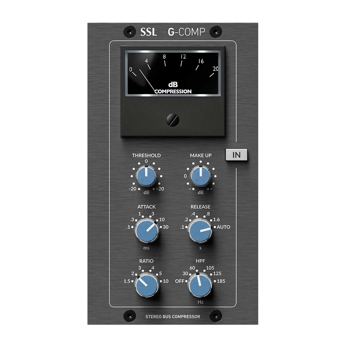Solid State Logic - SSL 500 Series G-Comp Stereo Bus Compressor Module (Gen3)