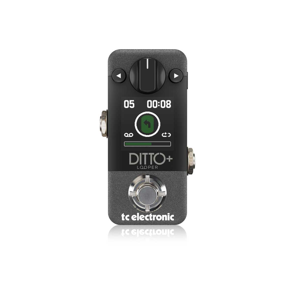 TC Electronic Ditto + Looper Pedal Top