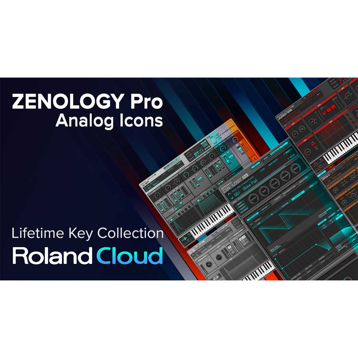 Roland Cloud Zenology Pro Analogue Icons Bundle