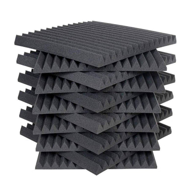 "Acoustic Panels - Auralex 2"" Studiofoam Wedges 2ft X 2ft Panels (12Pax)"