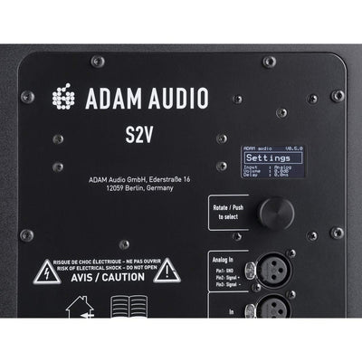 Active Studio Monitors - Adam S3H Active Midfield Studio Reference Monitors (Pair)