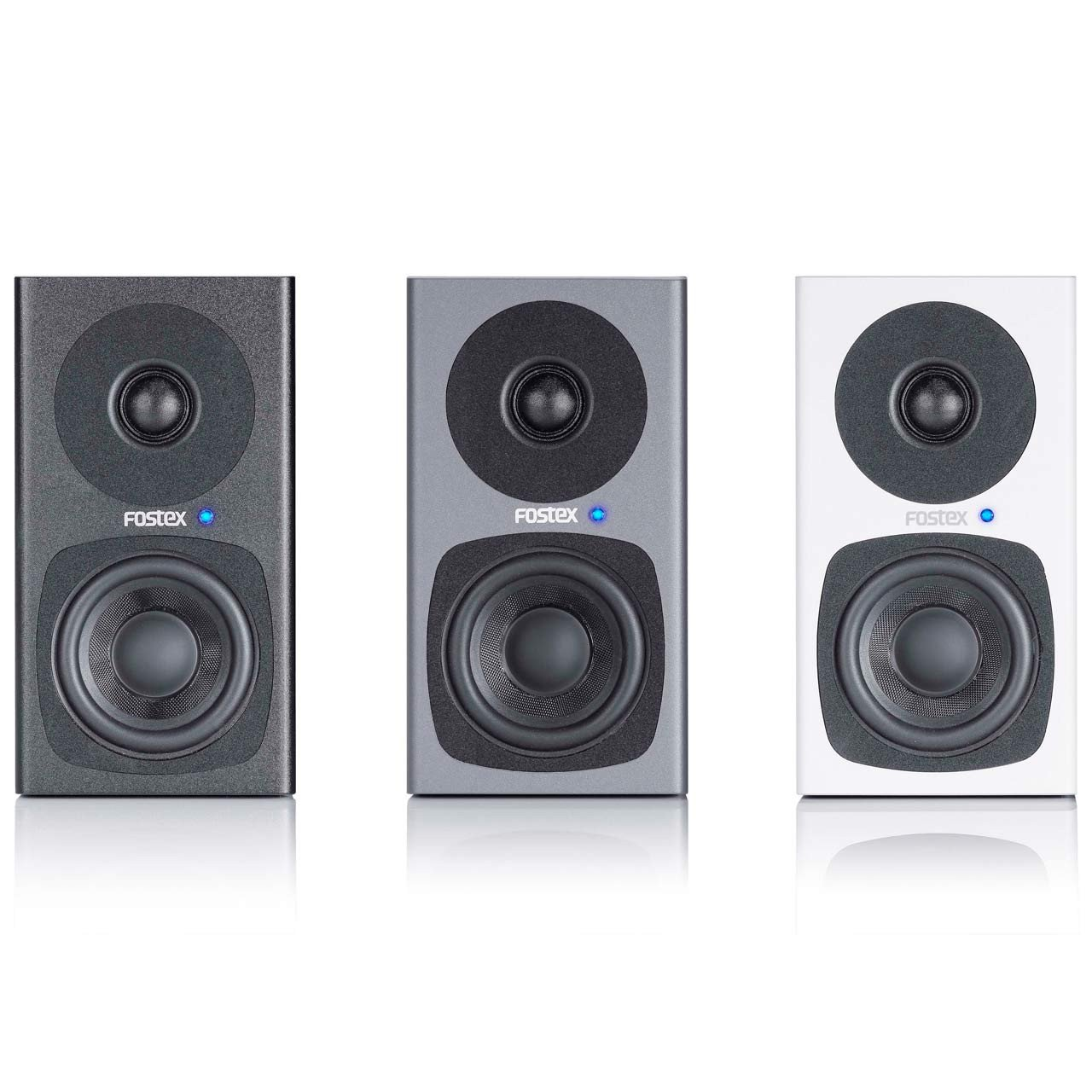 Active Studio Monitors - Fostex PM0.3d Active Speaker System (PAIR)