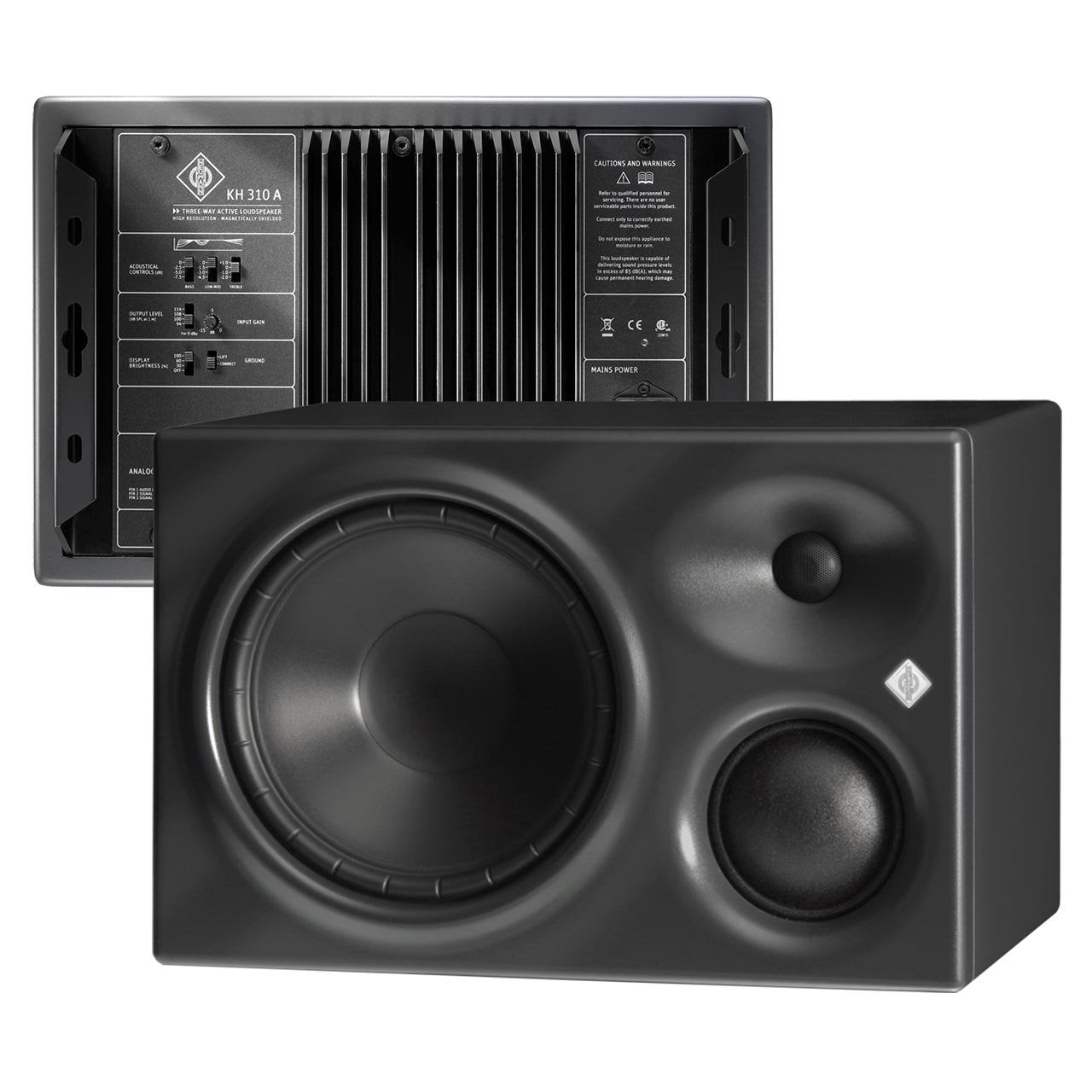 Active Studio Monitors - Neumann KH 310 A - Active Studio Monitor (PAIR)