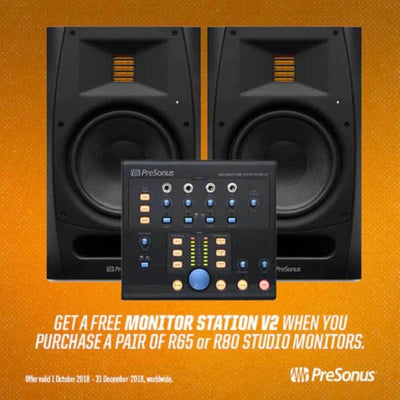 Active Studio Monitors - Presonus R-Series R65 AMT Studio Monitors PAIR