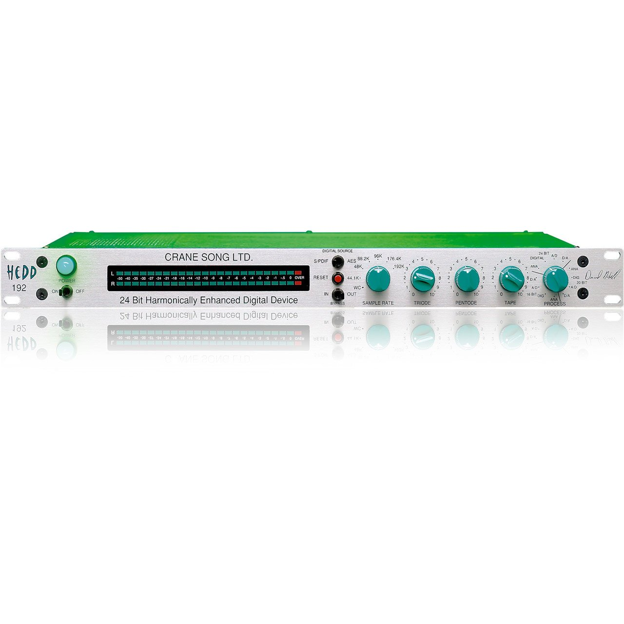 ADCs - Crane Song HEDD 192 Digital Signal Processor With 24-bit A/D & D/A Convertors