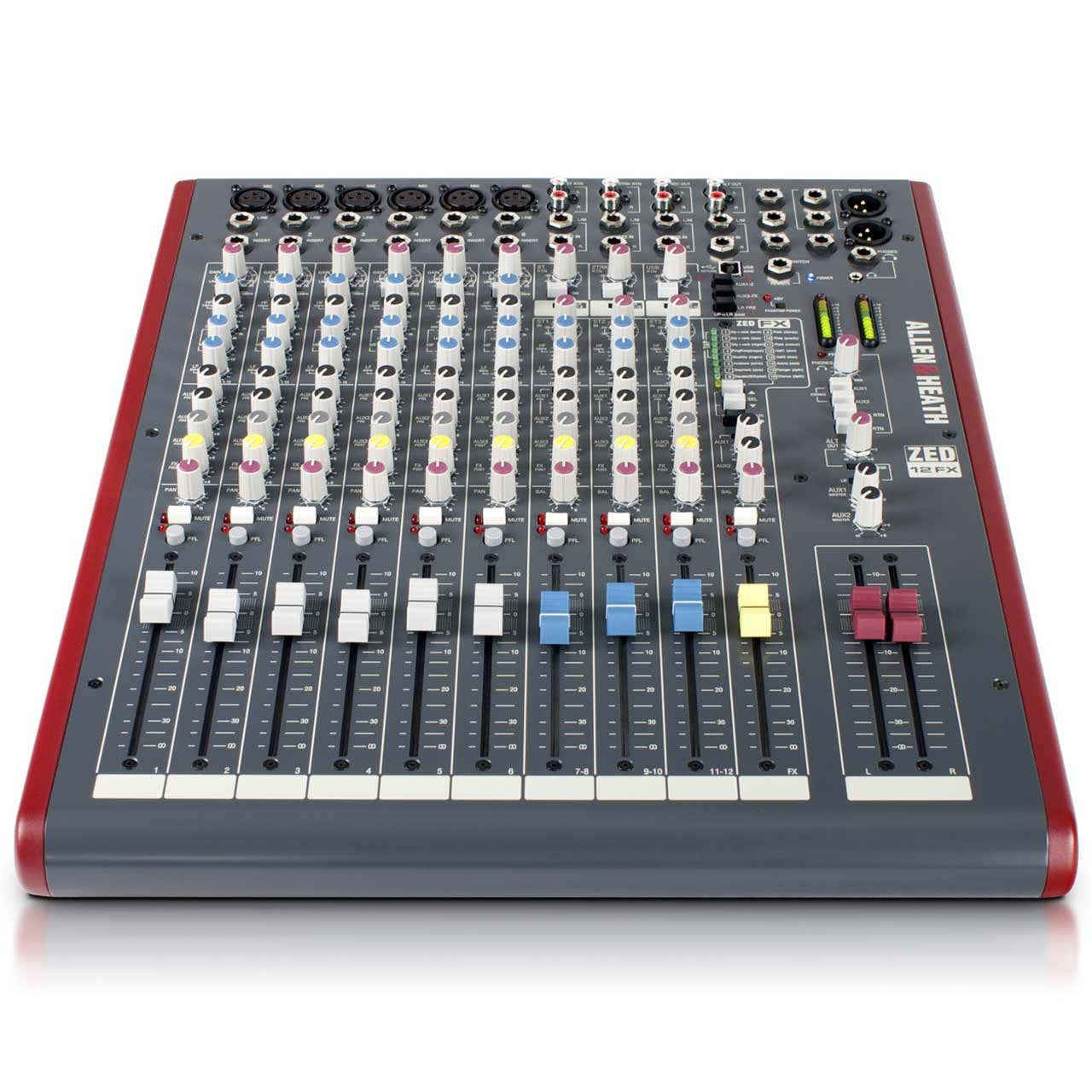 Analog Mixers - Allen & Heath ZED-12FX - Analogue Mixer With USB