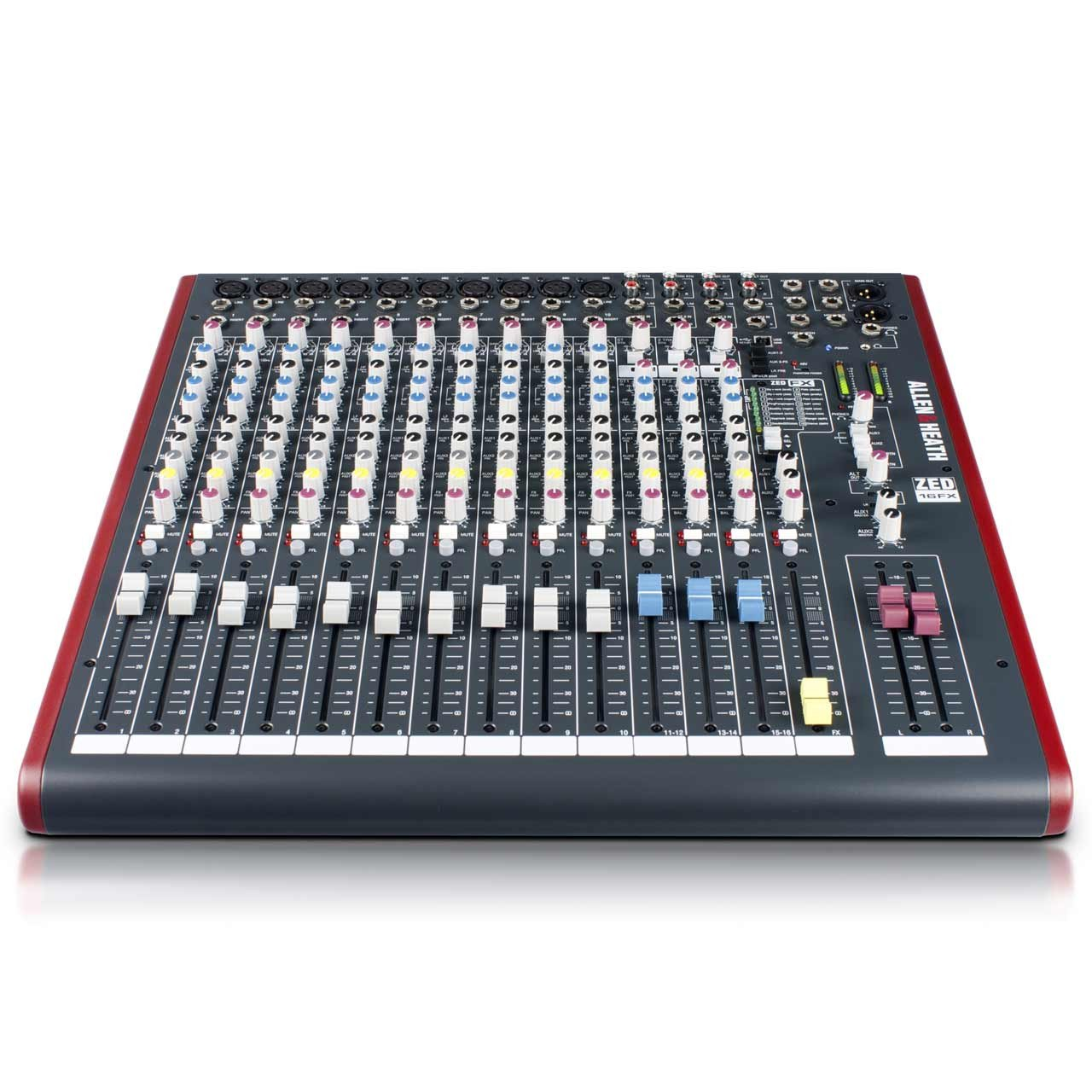 Analog Mixers - Allen & Heath ZED-16FX - Analogue Mixer With USB