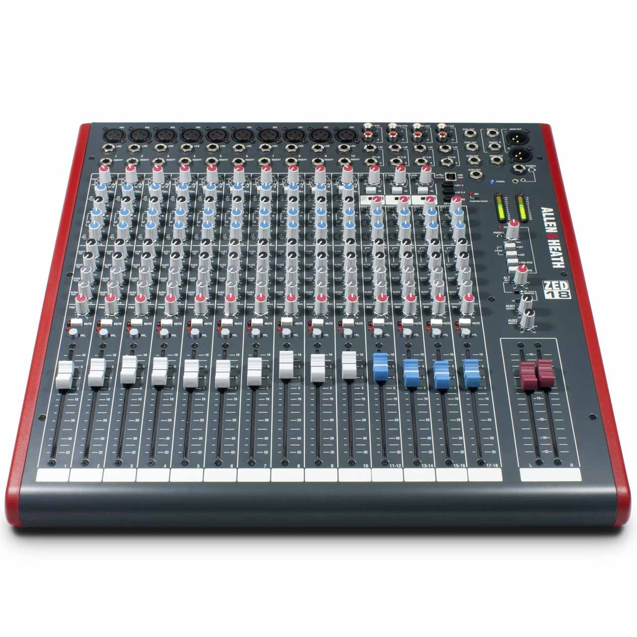 Analog Mixers - Allen & Heath ZED-18 - Analogue Mixer With USB