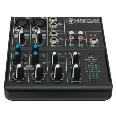 Analog Mixers - Mackie 402VLZ4 4 Channel Compact Mixer