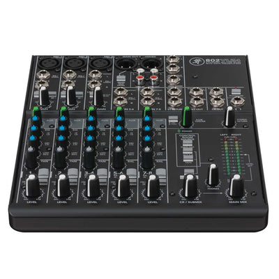 Analog Mixers - Mackie 802VLZ4 8 Channel Compact Mixer