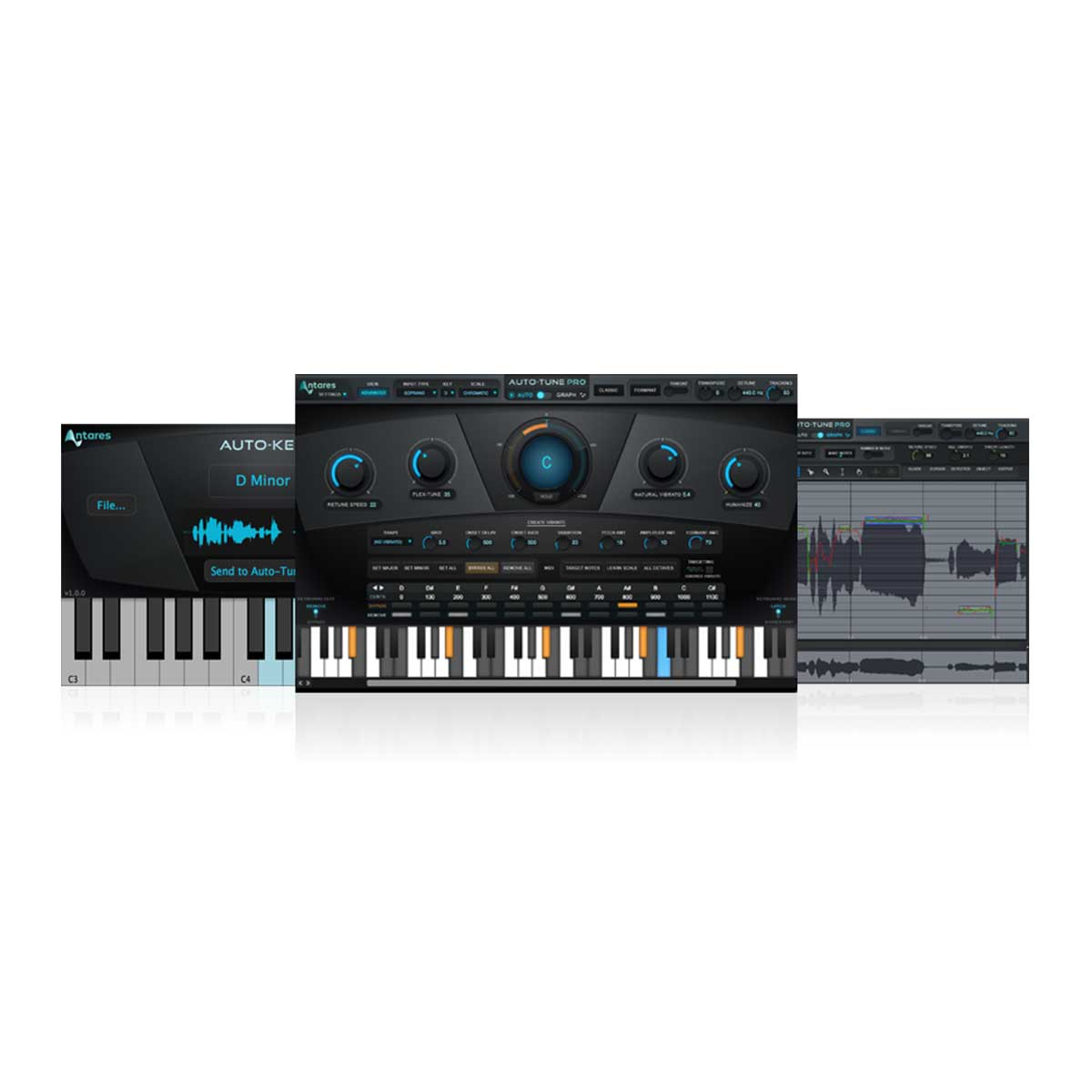 antares auto tune efx real time pitch correction plug in sounds easy. Black Bedroom Furniture Sets. Home Design Ideas